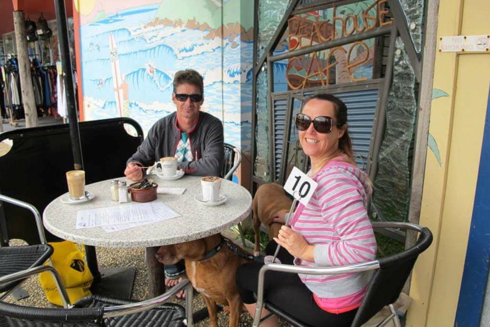 Pet friendly accommodation Woolgoolga & Coffs Harbour dog cafes