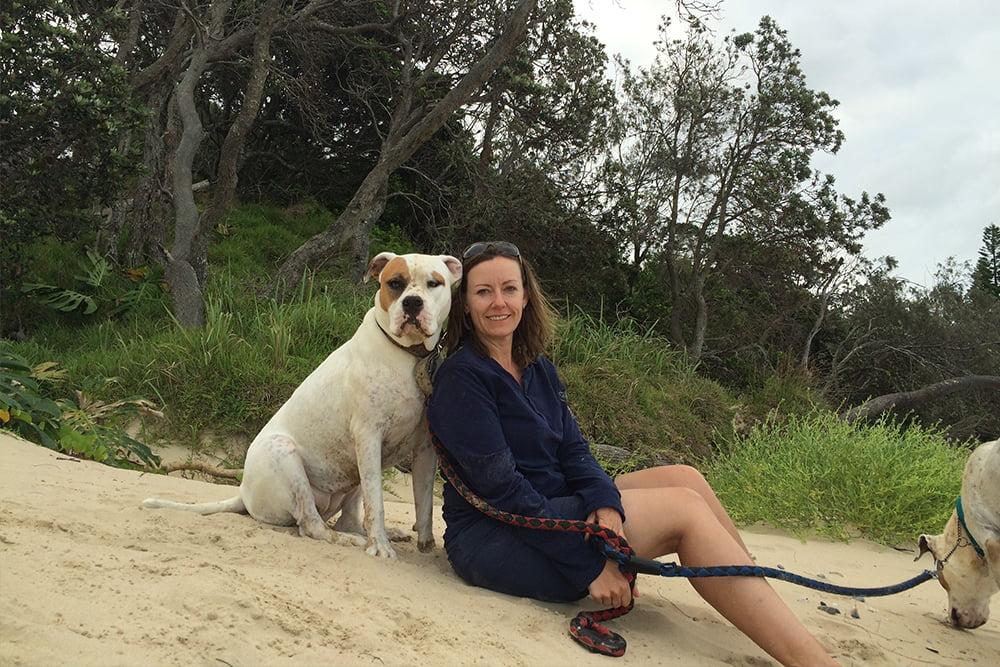 Dog friendly Pet friendly beach near Coffs Harbour New South Wales