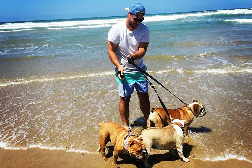 Dog beach near Coffs Harbour Safety Beach Bungalows
